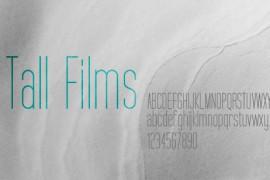 Tall Films字体下载