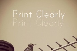 Print Clearly字体下载