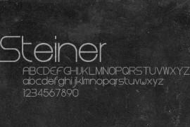 Steiner字体下载