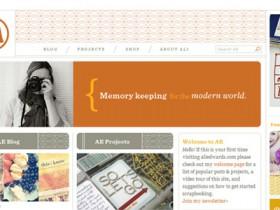 剪贴簿风格的Web设计