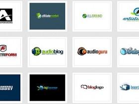 115个免费logo模板psd文件下载