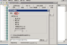 iis服务器如何设置网站的日志