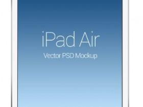 iPad Air样机psd源文件