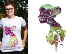 40多个T恤创意设计案