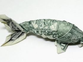 印象深刻的12美元钞票折纸创意