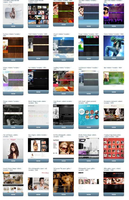 30个flash mint模板免费下载